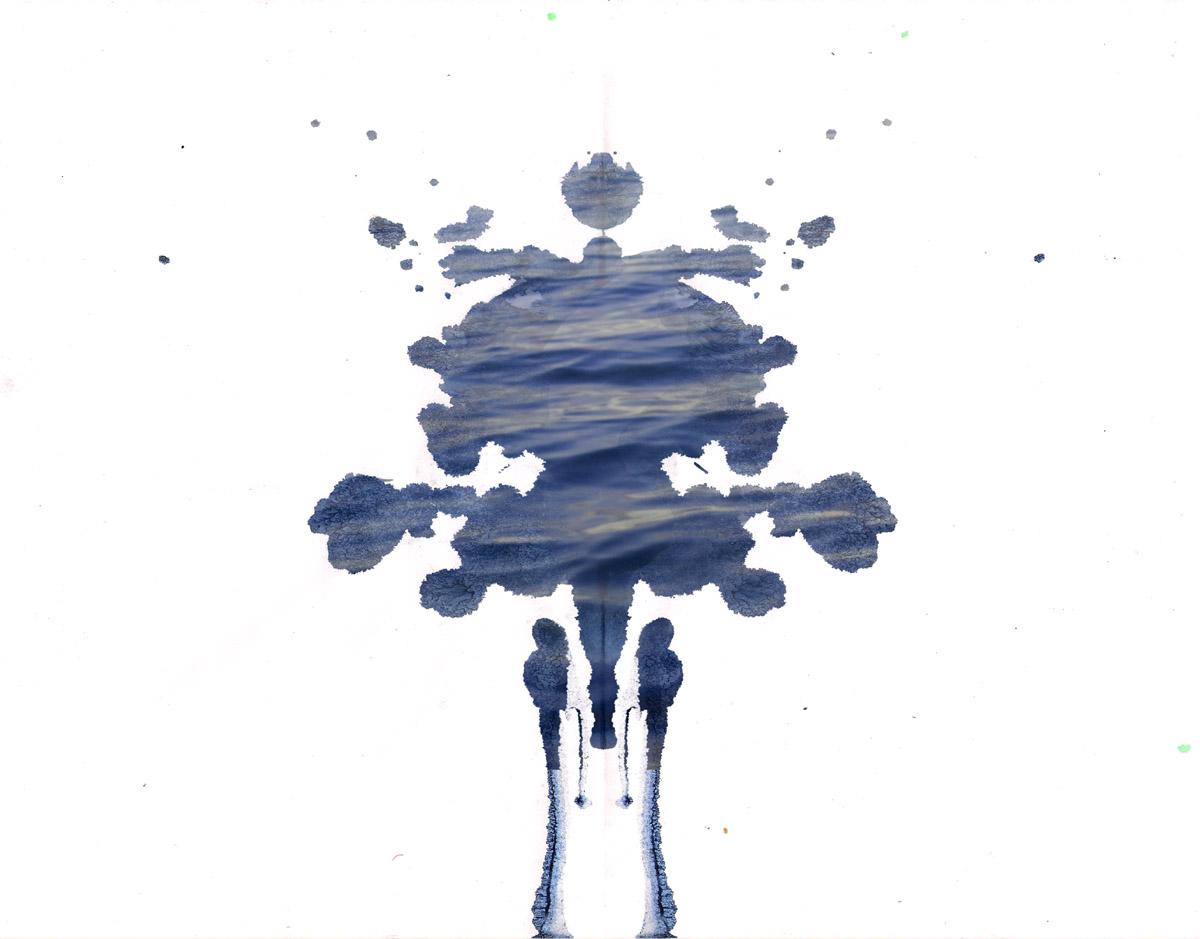 Ocean Blot #1 by Anja Marais