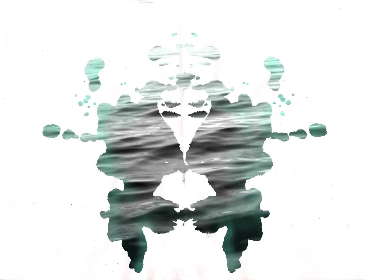 Ocean blot #3 by Anja Marais