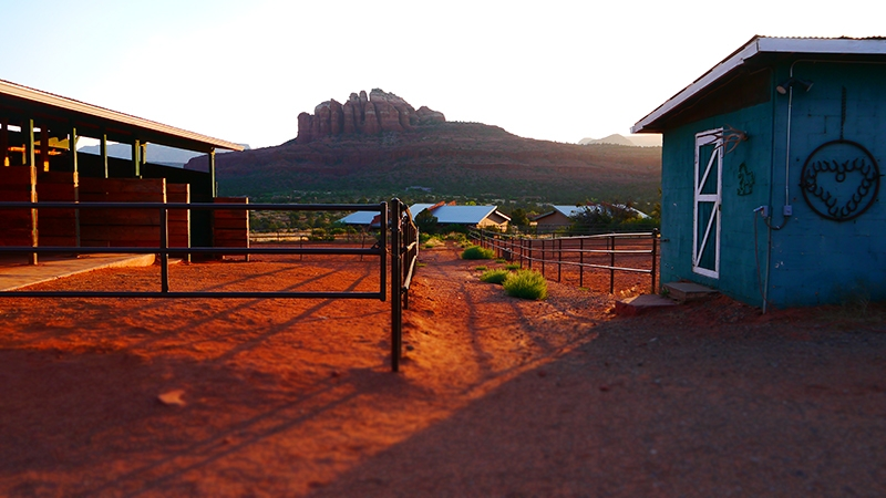 Sedona Summer Art Colony view